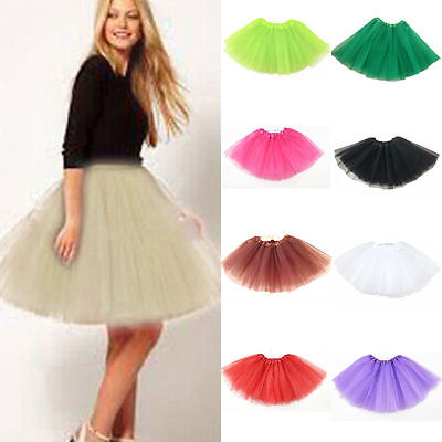 Women/Adult Tulle Dancewear Tutu Pettiskirt Princess Sexy Skirts Mini Dress Club