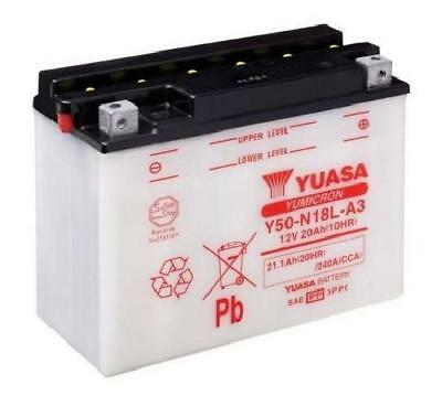 Yuasa Y50-N18L-A3 Motorcycle battery & acid pack