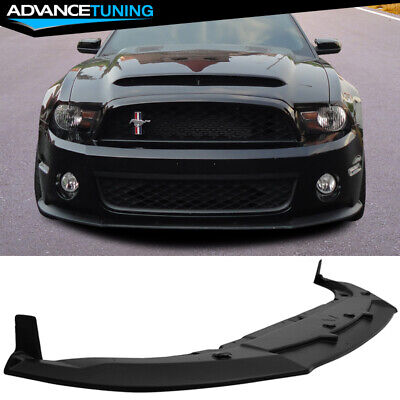 For 13-14 Ford Mustang RP Style Paintable ABS Rear Bumper Corner Side Splitters
