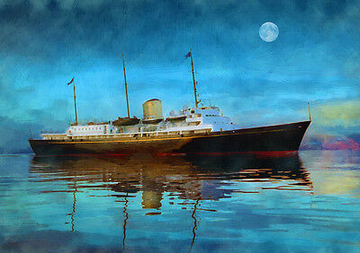 HMY BRITANNIA - The Royal yacht - HAND FINISHED, LIMITED EDITION (25)