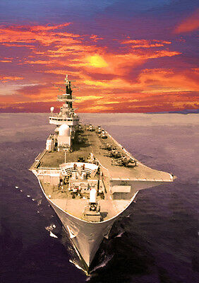 Hms Ark Royal R07 - Hand Finished, Limited Edition (25)