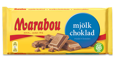 Marabou CHOCOLATE CHOOSE 8 *EIGHT* Bars 180-200g Made in Sweden