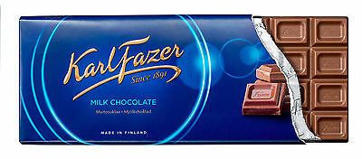 Karl FAZER VARIOUS Chocolate Bars 200g (7oz) Since 1891 Made in CHOOSE 8 *EIGHT*