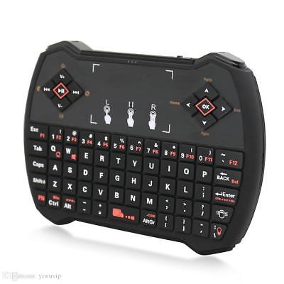 i9 2.4GHz  Wireless Mini Keyboard With Touchpad Backlit for PC Android TV