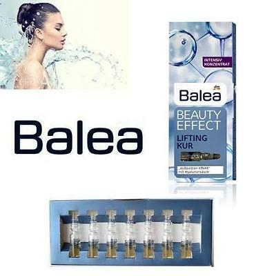 Balea HYALURONIC ACID ANTI-AGING EFFECT LIFTING Ampoules /lifting kur/ 7x1ml