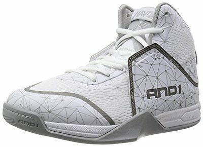 AND1Havok - Scarpe da Baseball Uomo, Bianco (WeiÃY (bright white/brighht (M7L)