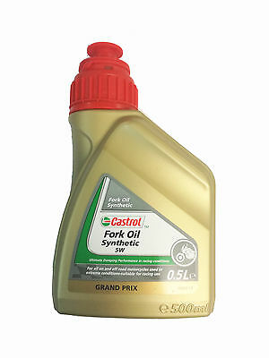 Castrol SYNTHETIC FORK OIL 5 W 0,5 L CA151AC6