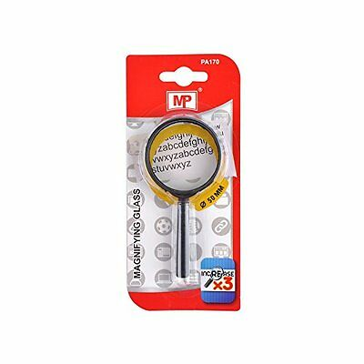 MP pa170 – Lente di ingrandimento, lente da 50 mm, colore: nero (i4L)