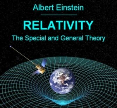 Relativity: The Special & General Theory by Albert Einstein - Audio Book MP3 CD