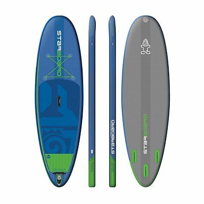 2017 Starboard 10' Whopper Zen Inflatable SUP Stand Up Paddle Board