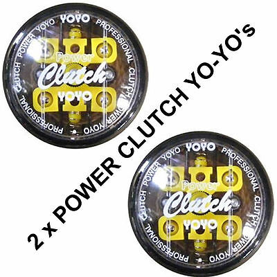 New 2 PACK's  4Ball Power Clutch Professional YoYo's (YOYO) + Belt Carry Clip's
