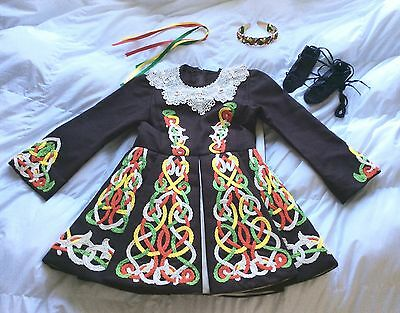 Irish Step Dancing Solo Competition Dress Girl's