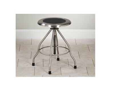 Clinton Stainless Steel Medical Lab Stool