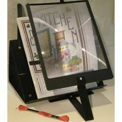S A Richards Hands-Free Pagina Magnifier & Stand- (I4a)