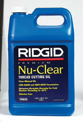 Ridgid Thread Cutting Oil