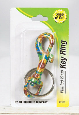 Hy-Ko Key Ring Asst Colors Carded