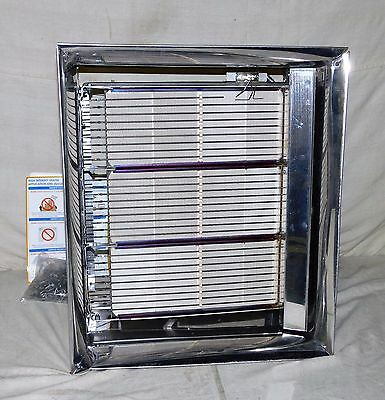 DAYTON 3E134 Commercial Infrared Heater 90,000 BtuH 120VAC