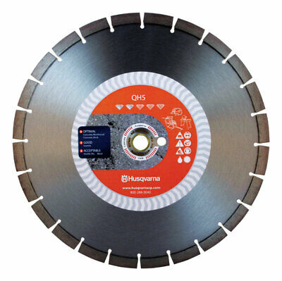 Husqvarna QH5 14 in. Dia. Diamond Saw Blade For Wet/Dry