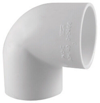 """Charlotte Pipe 90 Degree Elbow 3/4 """" Pvc Schedule 40 Pack of 25"""