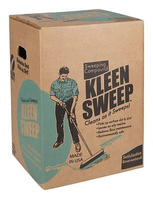 Kleen Sweep+ Sweeping Compound Box 100 Lb.
