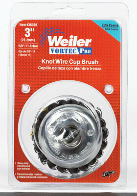 """Wire Cup Brush 3""""Xcoarse"""