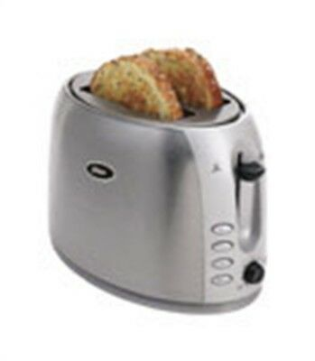 Oster Toaster 2 Slice Brushed Stainless Steel