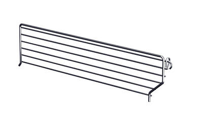 Lozier Wire Bin Divider 3 In. X 16 In. Chrome Finish Pack of 20