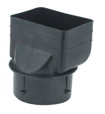 "Ads Downspout Adapter 3 "" X 4-1/4 "" Polyethylene"