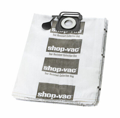 Brand Name: Shop-Vac  Length: 12.5 in. Width: 0.5 in. Product Type: Dry Vac Bag