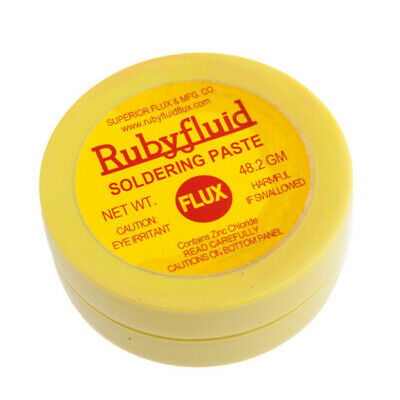 Forney  1.7 oz. Lead-Free Soldering and Tinning Paste Flux  1 pc. Zinc Chloride