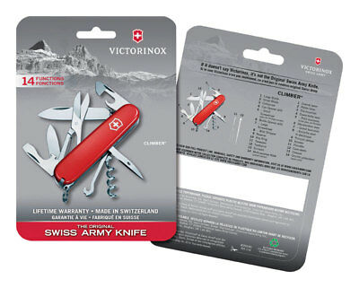 Swiss Army Climber Knife 3-1/2 In.