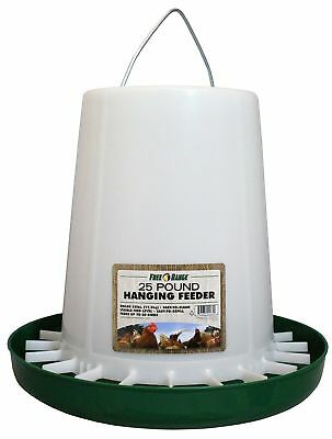 Free Range 4232 25 Lb Plastic Hanging Poultry Feeder