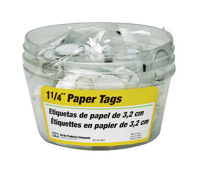 Hy-Ko Split Ring Paper Key Tag With Upc Coded Pack 5 Pack of 25