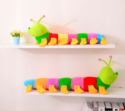 Cute Fashion Colorful Inchworm Soft Lovely Child Baby Toy Doll Hot Sale