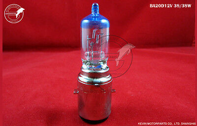 FSL tungsten xenon lamp BA20d 12V 38/38W ATV Scooter motorcycle Headlight Bulb