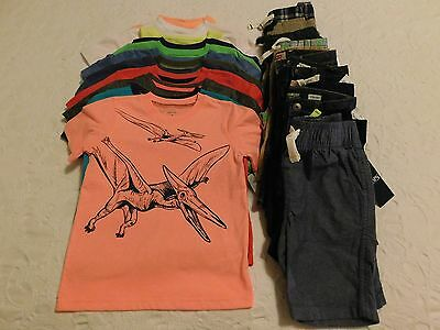 Boys Clothes size 4 4T NWT Summer Shirts Shorts Lot Brand New Retail $452 Lot #2
