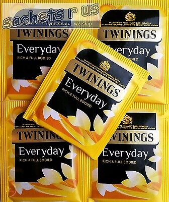 Twinings Everyday Teabags - Individual Enveloped & Tagged Tea Bags