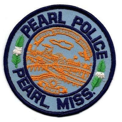 (New) Pearl Police Pearl Mississippi Police Patch
