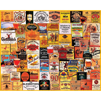 "Jigsaw Puzzle 1000 Pieces 24""X30"" Great Whiskies WM963"