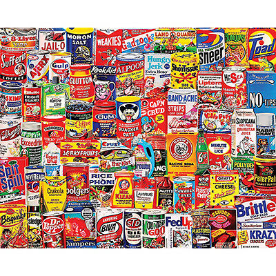 """Jigsaw Puzzle 1000 Pieces 24""""X30"""" Wacky Packages WM1065"""
