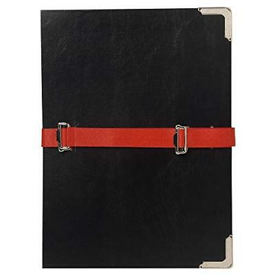 Exacompta 61360E Classificatori a Soffietto, Interno, 26x36 cm, Nero (r9h)