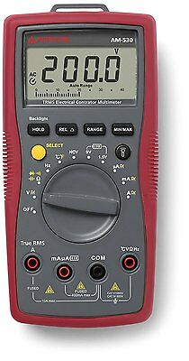 Amprobe AM-530 TRMS Electrical Contractor Multimeter with Non-Contact Voltage De