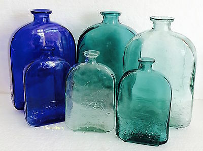 Chic Decorative Glass Bottles Table Top Display Ornament Home Decor Gift
