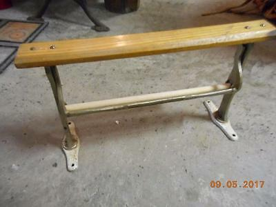 Vintage Country General Store Butcher Roll Dispenser Paper Cutter Wood & Metal