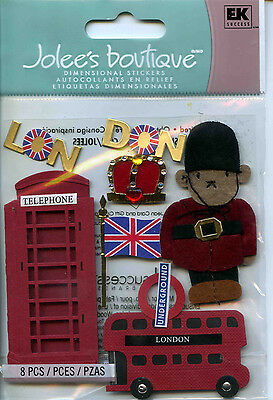 "Jolee's Boutique ""LONDON"" Dimensional Scrapbooking Stickers - L53"