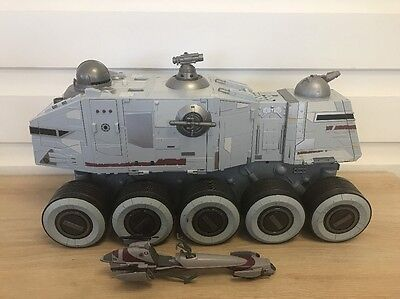 "Hasbro Star Wars Clone Wars Turbo Tank - Lights & Sound - 22""(56cm) 2008"
