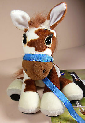 """""""Bucky"""" plush adorable tagged horse by Breyer & includes manufacturers booklet!"""