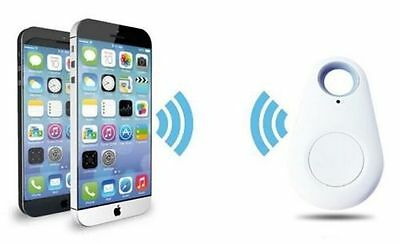 Useful Track Find Key Valuable Wireless Bluetooth 4.0 w/ Voice Recording White