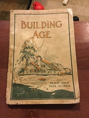 Vintage Building Age Magazine May 1914