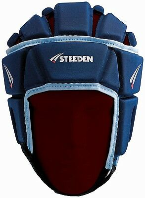 Steeden Deluxe Headguard MINI Blue or Maroon NRL Rugby League AFL